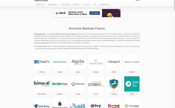 alloweb annuaire references clients agence web pro