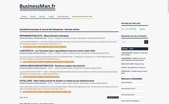 businessman references clients agence web pro