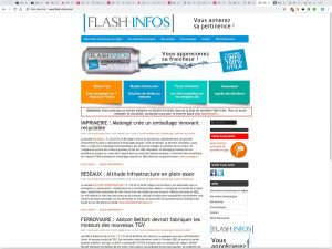 flash infos references clients agence web pro