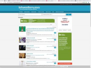 infosculture references clients agence web pro