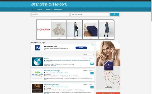 startups ideas references clients agence web pro